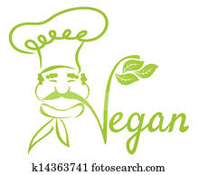 Vegan chef