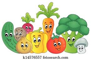 Vegetable theme image 2