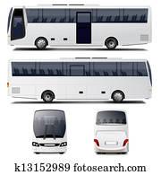 vektor, bus
