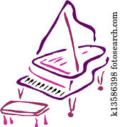 vektor, klavier