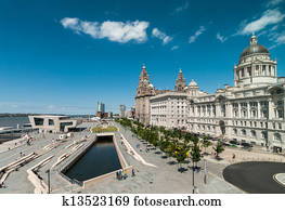 view from liverpool museum