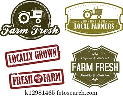 Vintage Farming and Market Fresh