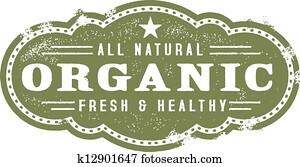 Vintage Organic Nutrition Graphic