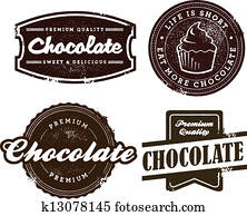 Vintage Style Chocolate Desert