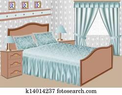 Schlafzimmer Clipart Und Illustrationen 21 299 Schlafzimmer Clip