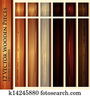 Wooden texture seamless background illustration