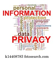 Word tags of infomation privacy
