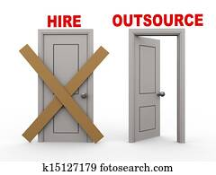 3d hire and outsource doors