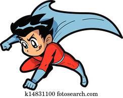 anime, manga, junge, superhero