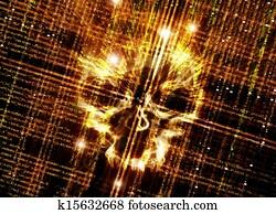 computer virus backround