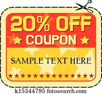 Coupon sale 20%