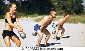 Crossfit Group Workout