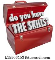 Do You Have the Skills Toolbox Experience Abilities