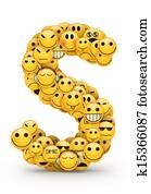 Emoticons letter S