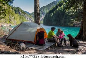 Family Wilderness Camp
