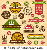farm logo labels and designs