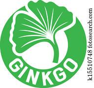 ginkgo biloba symbol
