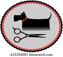 grooming scottish terrier