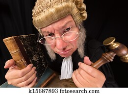 Grumpy judge