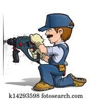 Handyman - Drilling Blue
