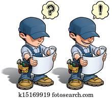 Handyman - Reading Plan Blue