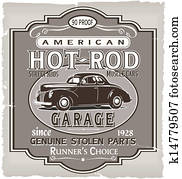 Hotrod Runner garage