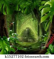 Jungle Pyramid