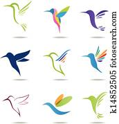 kolibri, logo
