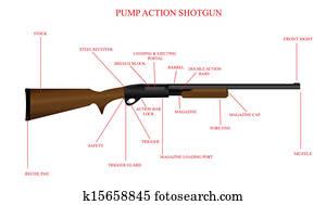 Incredible Vector Shotgun Shell 12 Gauge Clipart K36498035 Fotosearch Wiring 101 Tzicihahutechinfo