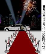 limo red carpet