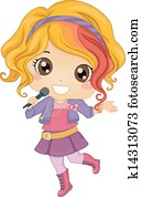 Little Girl Pop Star