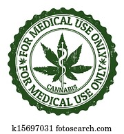 medizinische, marihuana, briefmarke
