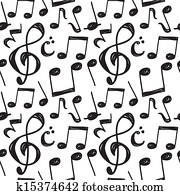 music note pattern
