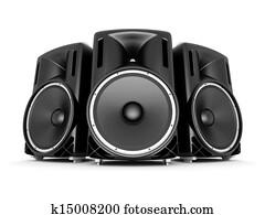 music speakers