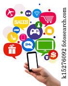 Online sales/shop business template