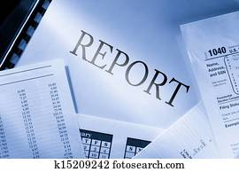 Operating budget, calendar and report