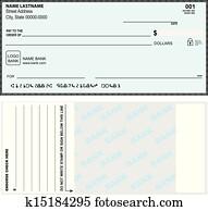 Option bank check