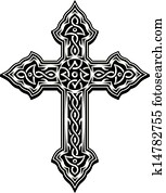 Ornate Christian Cross