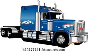 Peterbilt Semi Tractor Only