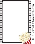 Popcorn Movie Frame