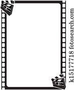 Scene Clapper Movie Frame