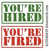 sie sind, eingestellt, und, sie sind, abgefeuert, briefmarken