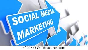 Social Media Marketing. Business Concept.