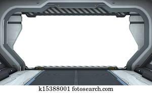 spaceship gate