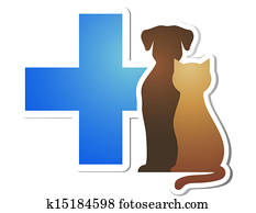 veterinary cross and pets