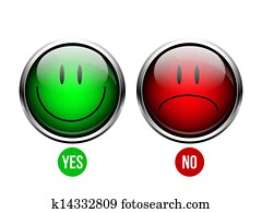 Yes, No button