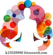 Yoga practitioner