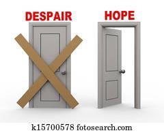 3d despair and hope doors