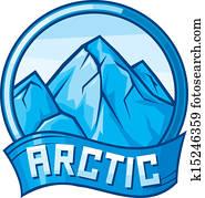 arctic design (arctic label)