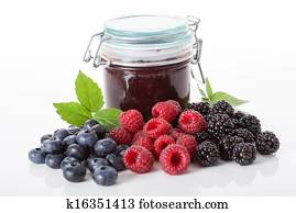 Berries for a jam